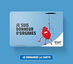 carte de donneur d organe FreeYourOrgans : pour des organes libres d'avoir une seconde vie