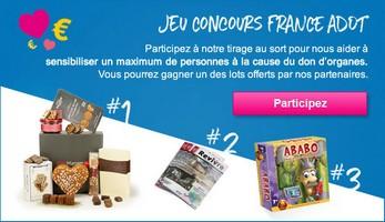 Jeu concours FRANCE ADOT