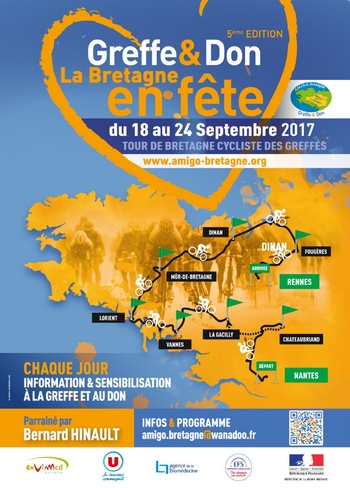 Greffe et don d'organes en Bretagne