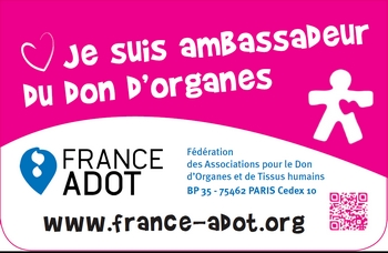 carte de donneur d organe La carte de donneur de FRANCE ADOT évolue   France Adot