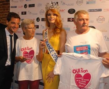 Miss FRANCE 2018 sensibilisée au don d'organes