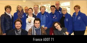 Les bénévoles ADOT 71 rendent hommage à Jennifer