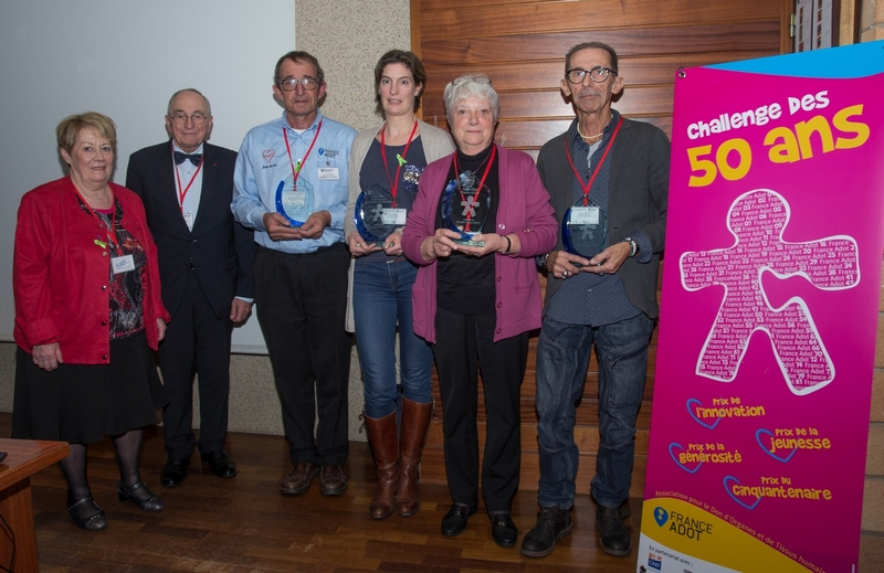 Les gagnants du Challenge France ADOT