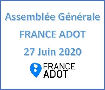 Assemblée Générale de FRANCE ADOT 2020 en visio conférence