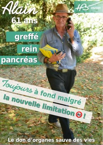 Alain double greffé