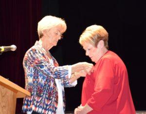 Marie-Claire PAULET et la Légion d'Honneur
